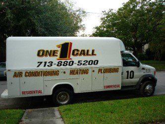 Houston plumbing heating AC sewer and drain repairs at One Call Houston